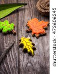 "gingerbread ""autumn leaves"" 