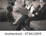 retro revival image of school...   Shutterstock . vector #473611849