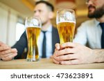 glasses of beer | Shutterstock . vector #473623891