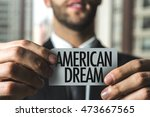 Small photo of American Dream