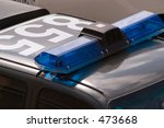 police car rooftop
