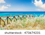 beautiful sea coast with wild... | Shutterstock . vector #473674231