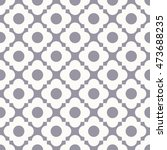 seamless quatrefoil monochrome...   Shutterstock .eps vector #473688235