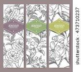 set of three vector banners... | Shutterstock .eps vector #473710237