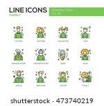 family   modern vector line... | Shutterstock .eps vector #473740219