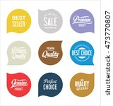 sale stickers and tags... | Shutterstock .eps vector #473770807