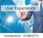 user experience   businessman...