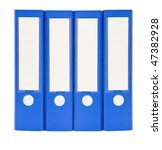 office document folders close... | Shutterstock . vector #47382928
