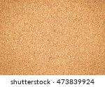 brown vintage cork board...   Shutterstock . vector #473839924