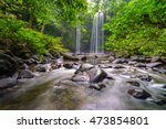 madai waterfall in the tropical ... | Shutterstock . vector #473854801