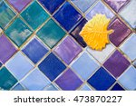 colorful ceramic tile... | Shutterstock . vector #473870227