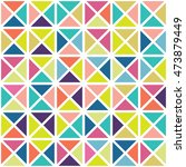 color geometric shapes triangle ... | Shutterstock .eps vector #473879449