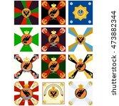 advertise russian regiments...   Shutterstock .eps vector #473882344