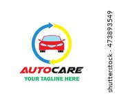 automotive   car  vehicle logo... | Shutterstock .eps vector #473893549