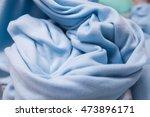 light blue  wool texture... | Shutterstock . vector #473896171