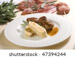 Veal steaks - stock photo