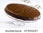 Sacher cake - stock photo