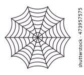 cobweb arachnid spider web... | Shutterstock .eps vector #473957575