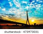 Mega Bridge In Bangkok Thailan...