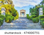 path leading to the monument to ... | Shutterstock . vector #474000751
