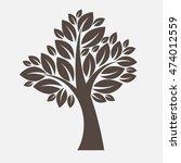 vector tree illustration | Shutterstock .eps vector #474012559