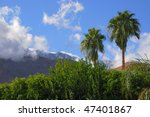 view on san jacinto mountains... | Shutterstock . vector #47401867