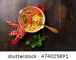 Spaghetti Bolognese With Tomato ...