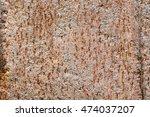 rusted metal texture background | Shutterstock . vector #474037207