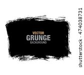 vector grunge background | Shutterstock .eps vector #474038731