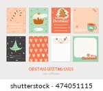 collection of cute vector... | Shutterstock .eps vector #474051115