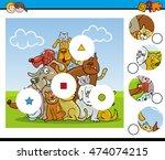 cartoon illustration of... | Shutterstock .eps vector #474074215