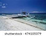 philippines  balicasag island ...   Shutterstock . vector #474105379