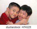 sibling's unconditional love | Shutterstock . vector #474125