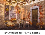 Autumn Patio Entwined Yellow...