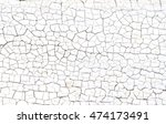 background of cracked white... | Shutterstock . vector #474173491