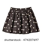 skirt isolated | Shutterstock . vector #474207697