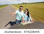 road trip  travel  tourism ... | Shutterstock . vector #474228445