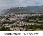 lhasa  capital of tibet | Shutterstock . vector #474228499