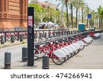 number of bikes for rent on... | Shutterstock . vector #474266941