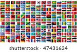 all the flags of the world ... | Shutterstock . vector #47431624