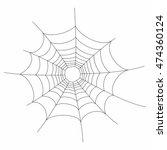 vector illustration of a spider ...   Shutterstock .eps vector #474360124