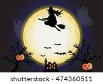 halloween design vector...   Shutterstock .eps vector #474360511