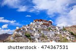 thiksey monastery or thiksey... | Shutterstock . vector #474367531