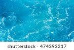 foam on the sea   Shutterstock . vector #474393217