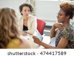 unposed group of creative... | Shutterstock . vector #474417589
