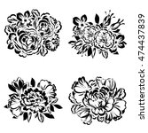 flower set | Shutterstock .eps vector #474437839