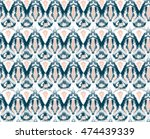 ethnic ceramic design | Shutterstock . vector #474439339