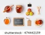 jewish holiday rosh hashana... | Shutterstock . vector #474442159