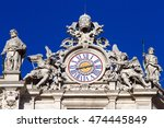 Clock On Facade Of Saint Peter...