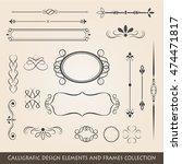 vintage items illustration. | Shutterstock .eps vector #474471817